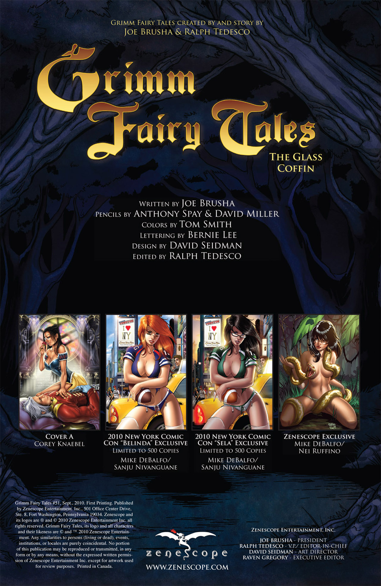 Grimm Fairy Tales (2005) Issue #51 #54 - English 2