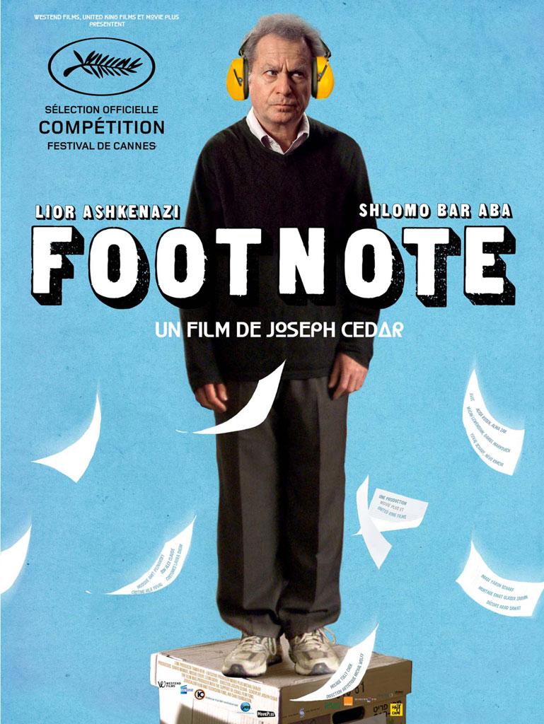 Footnote Dublado e Legendado 2012