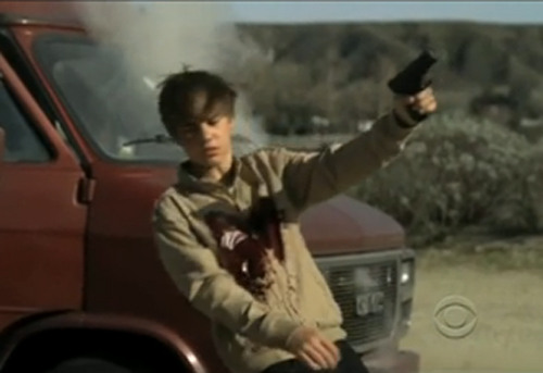 justin bieber dead in car accident. justin bieber shot dead on csi