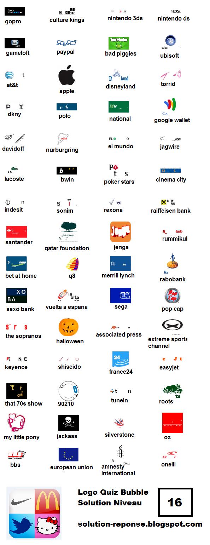 Libellés : logo quiz bubble , Logo quiz niveau 16 solution