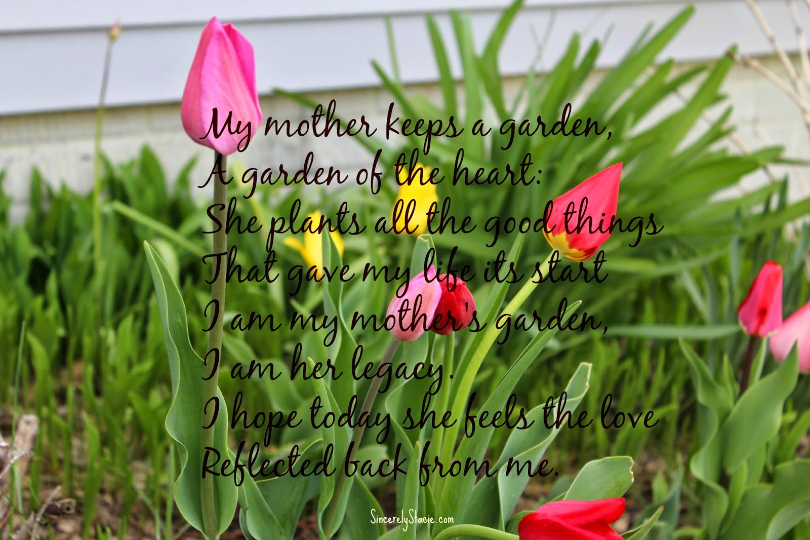 A Little Monday Inspiration A Mothers Legacy Sincerely Stacie