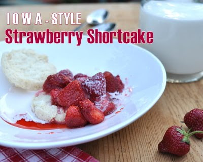 Strawberry Shortcake Iowa-Style