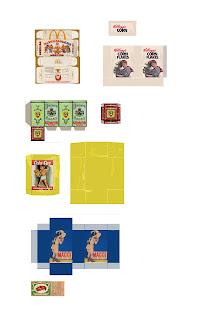 casa de muñecas imprimibles cajas