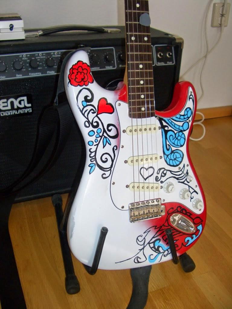Monterey Pop Strat, Cheap Strat Guitar For Sale Replica Specs Price ...