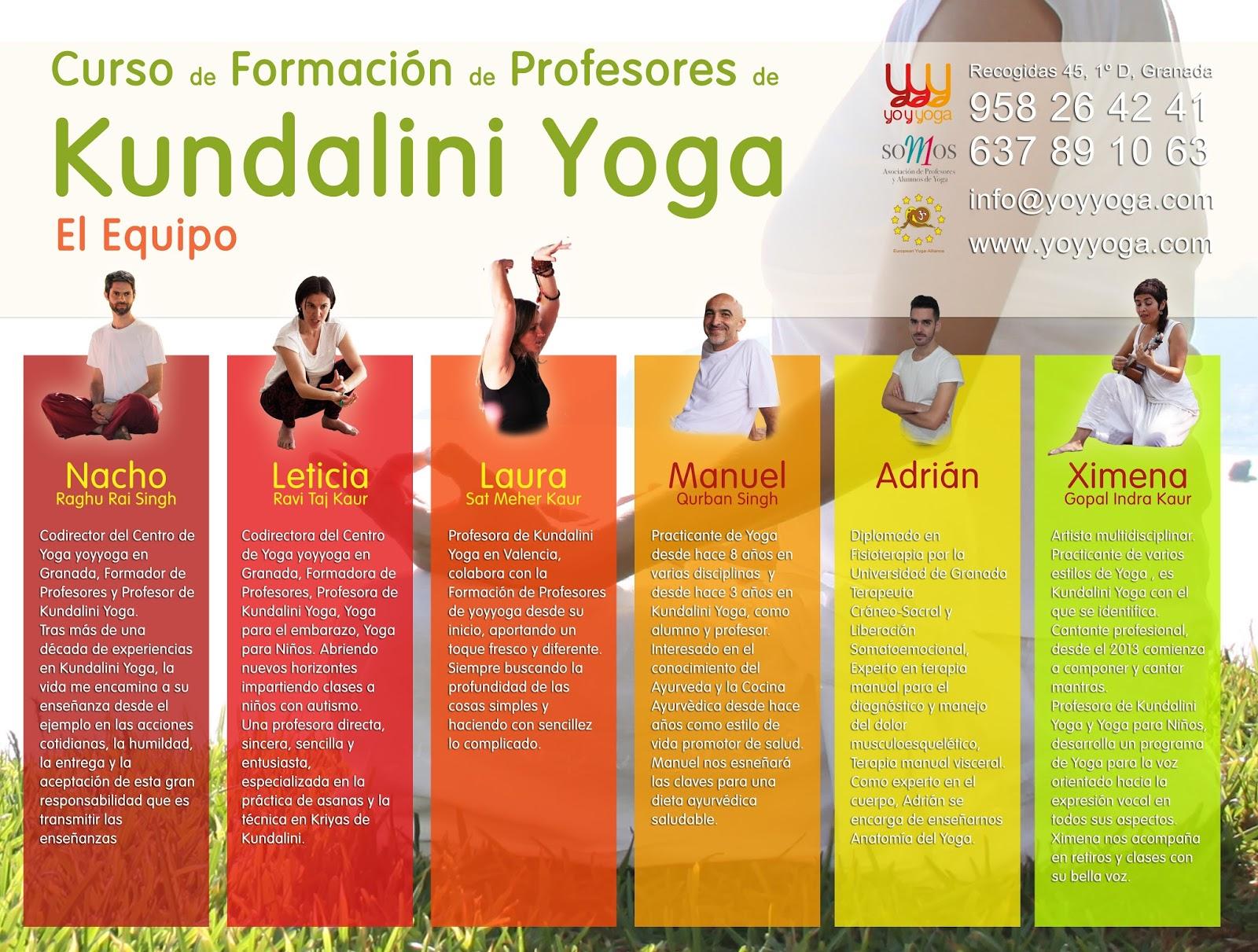 Curso de formación de Profesores de Kundalini Yoga en Granada ...