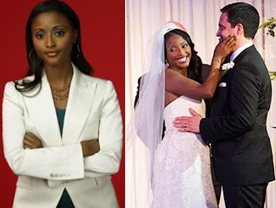 isha sesay weds colleague