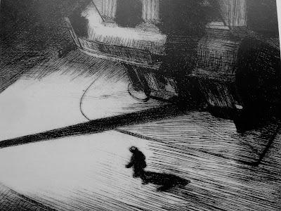 Sombras Nocturnas, aguafuerte de Hopper