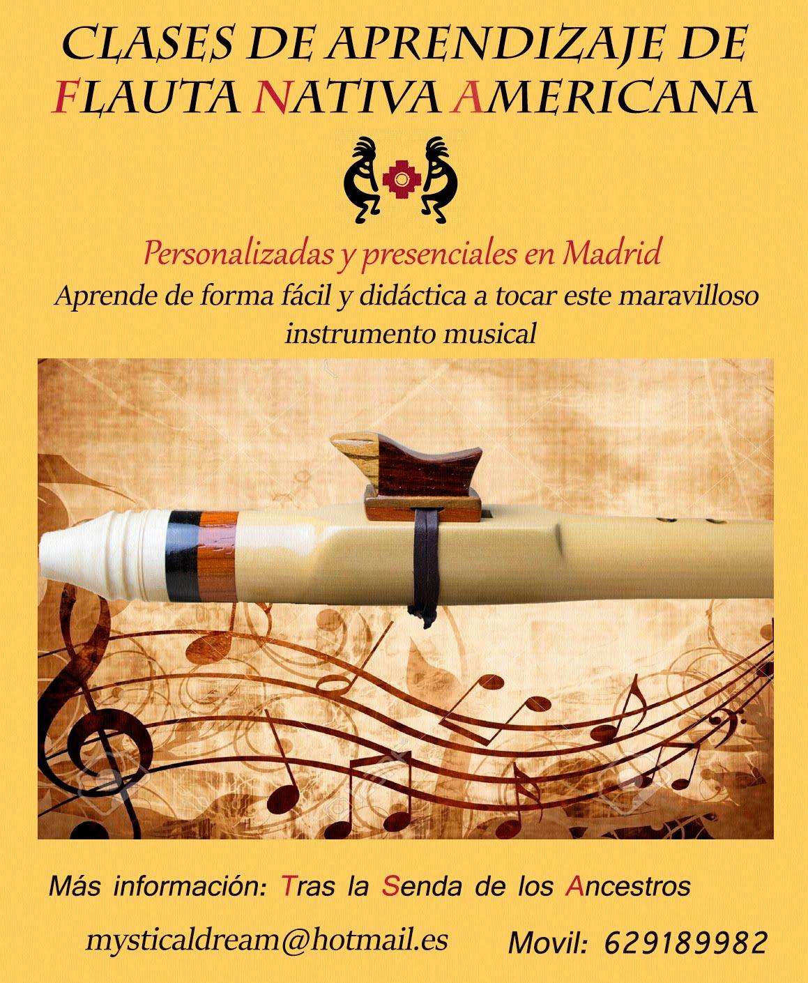 Clases de Flauta Nativa