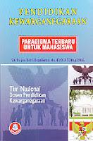 toko buku rahma: buku PENDIDIKAN KEWARGANEGARAAN PARADIGMA TERBARU UNTUK MAHASISWA, pengarang tim nasional dosen pendidikan kewarganegaraan, penerbit alfabeta