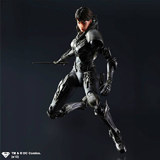 Square Enix Play Arts Kai Man of Steel Faora Figure