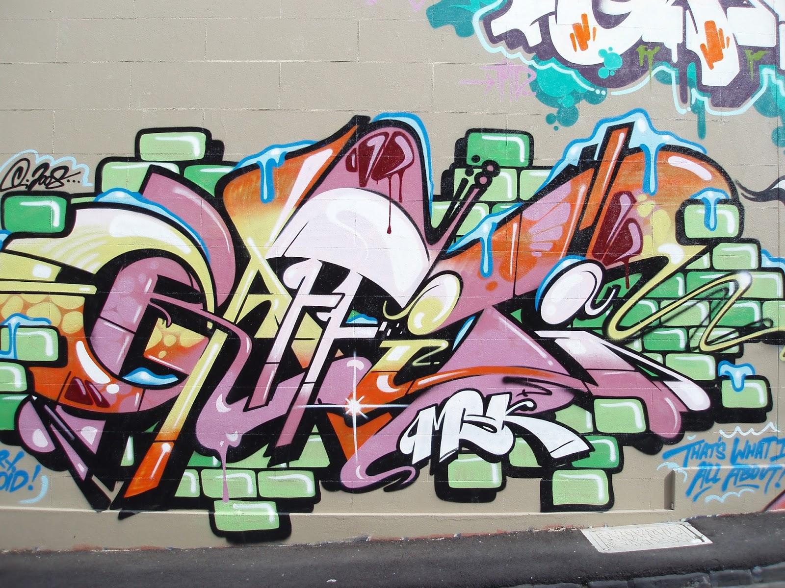 Algo diferente pl stica y diversidad - Bedroom wall graffiti ideas ...
