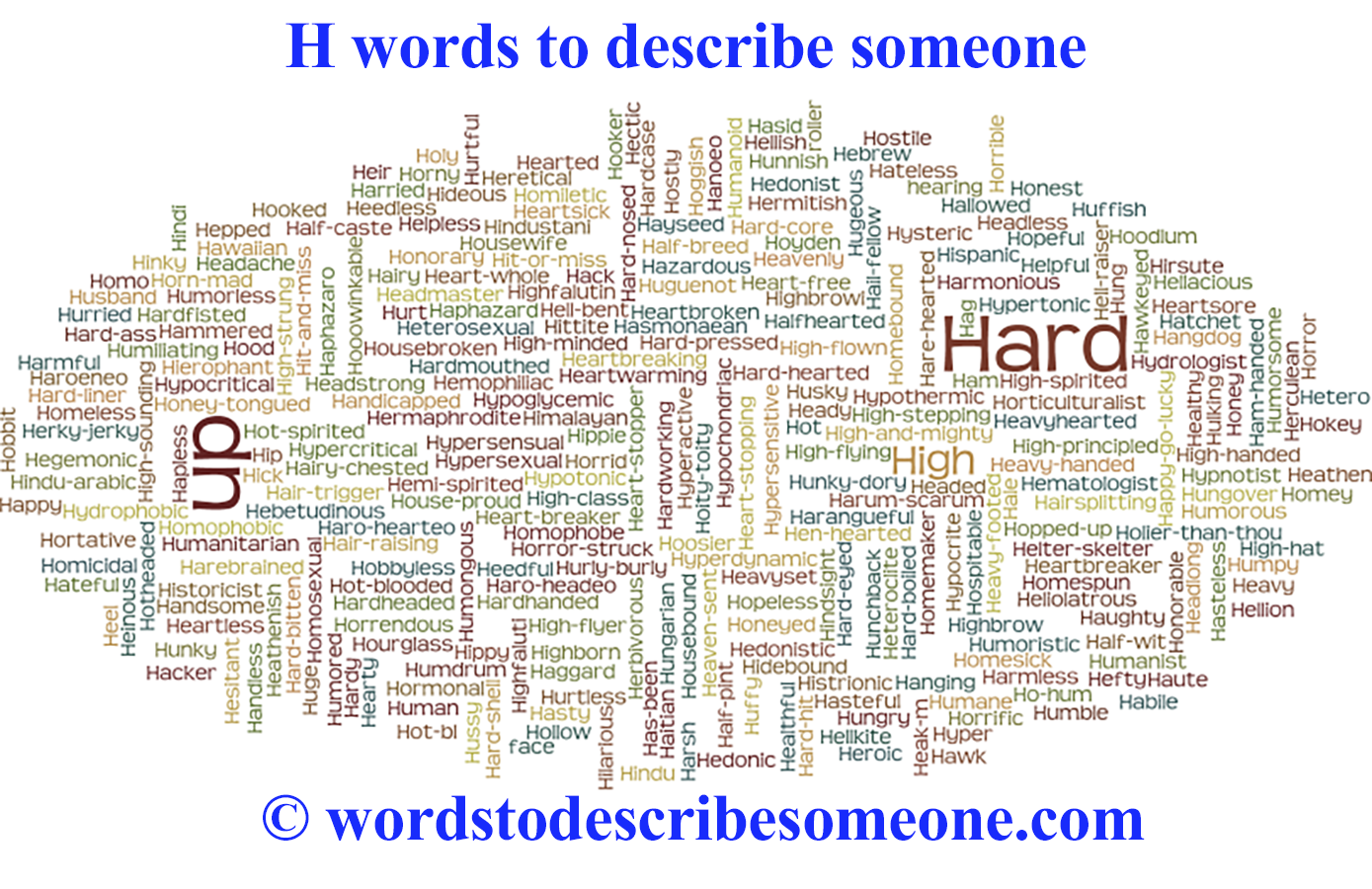 B Words That Describe Someone