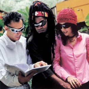 Arnaldo Antunes, Carlinhos Brown e Marisa Monte juntos