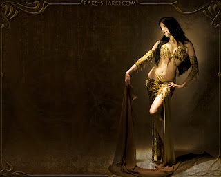 wallpaper danza arabe
