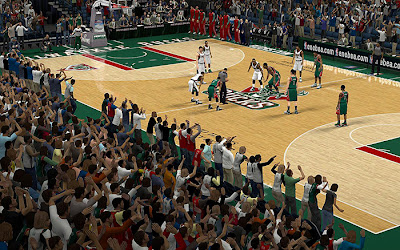 NBA 2K13 Milwaukee Bucks Crowd Fix Patch