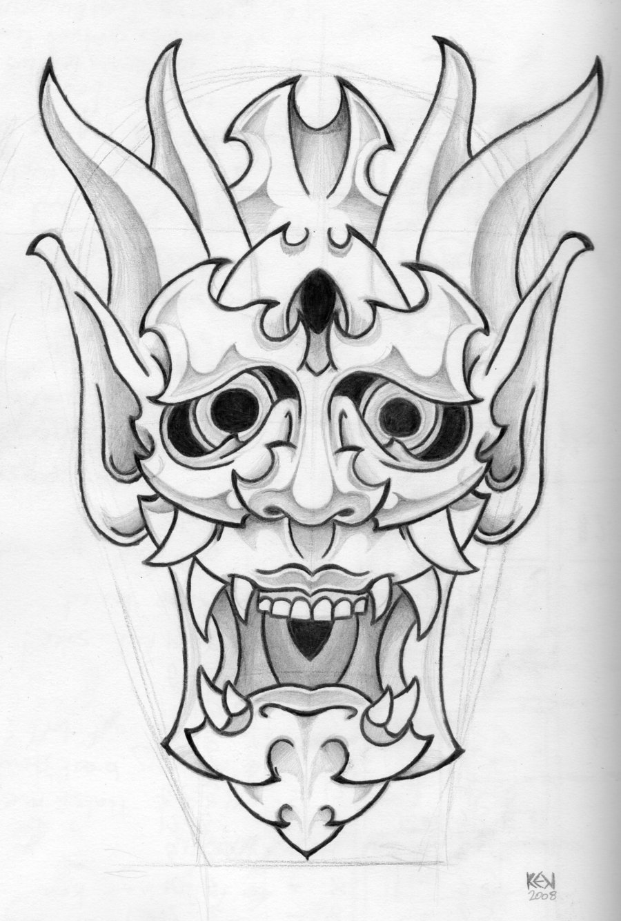 Tattoo Drawing Outline : Traditional tattoo designs