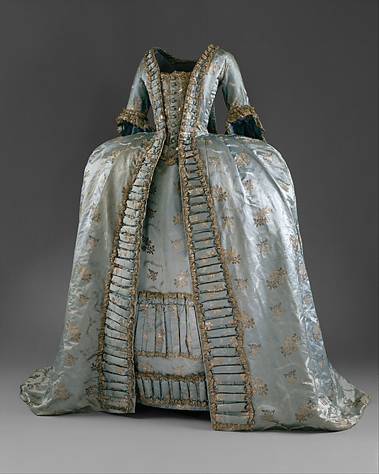 Robe A La Francaise: My Fanciful Muse: Museum Costumes From The Late