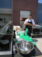 Chef Shawn Murphy in his kitchen