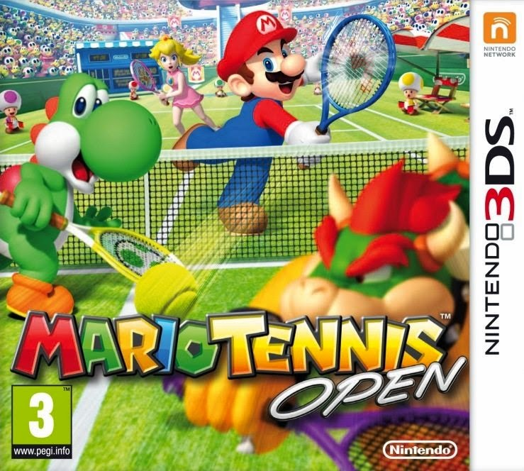 3DS Mario Tennis Open Cover