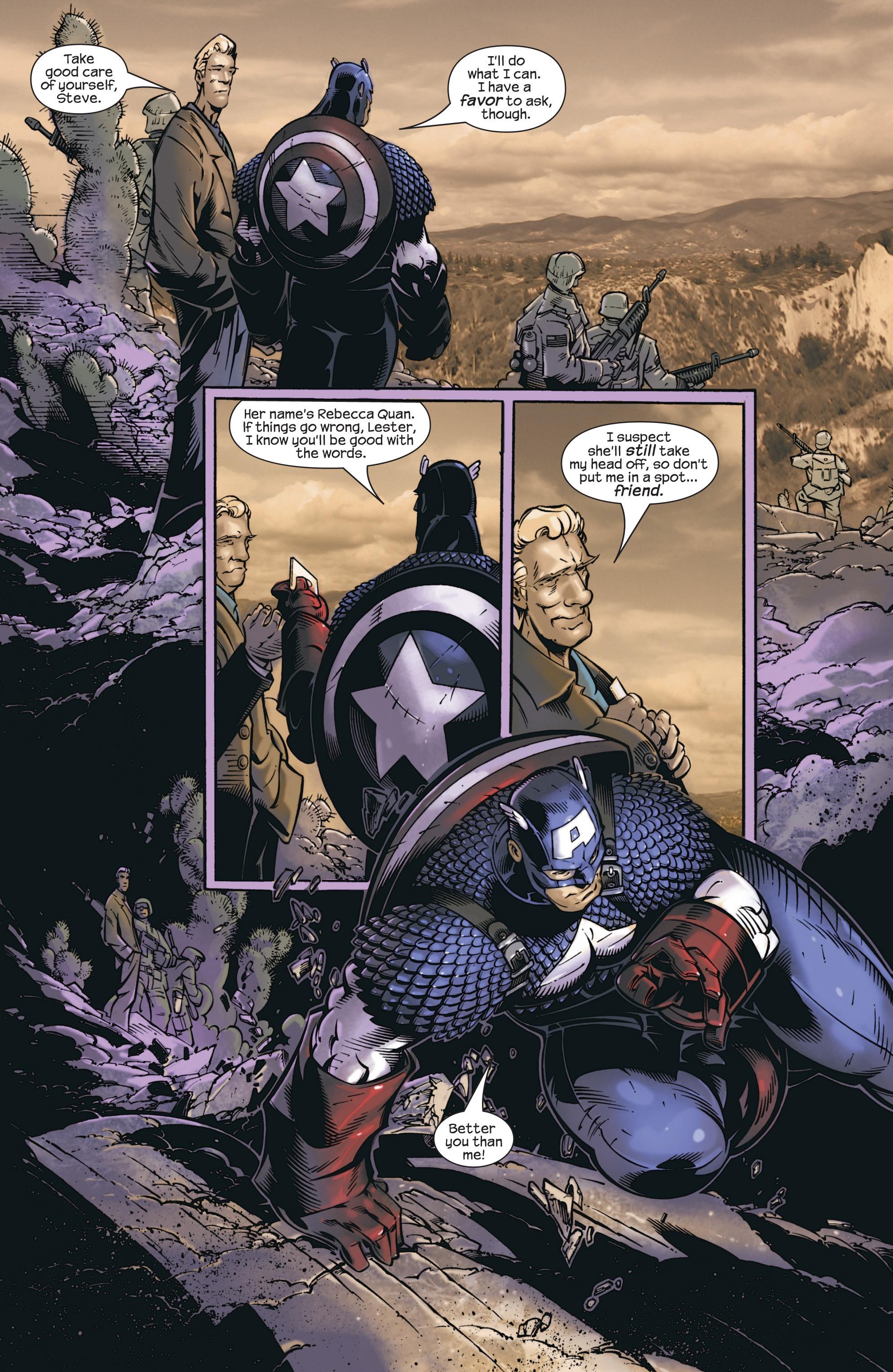 Captain America (2002) Issue #23 #24 - English 16