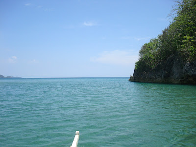 The sea in Sipalay City