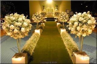 dicas e imagens de Decoração para Casamento