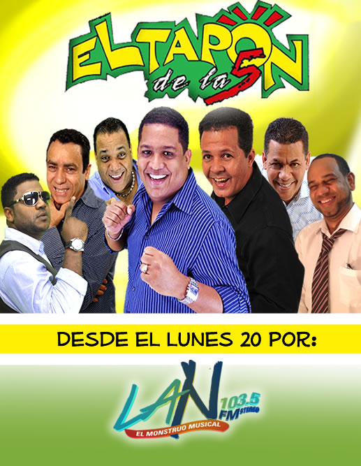 Desde el lunes 20 de 5:00 a 7:00 pm por La N-103.5 FM