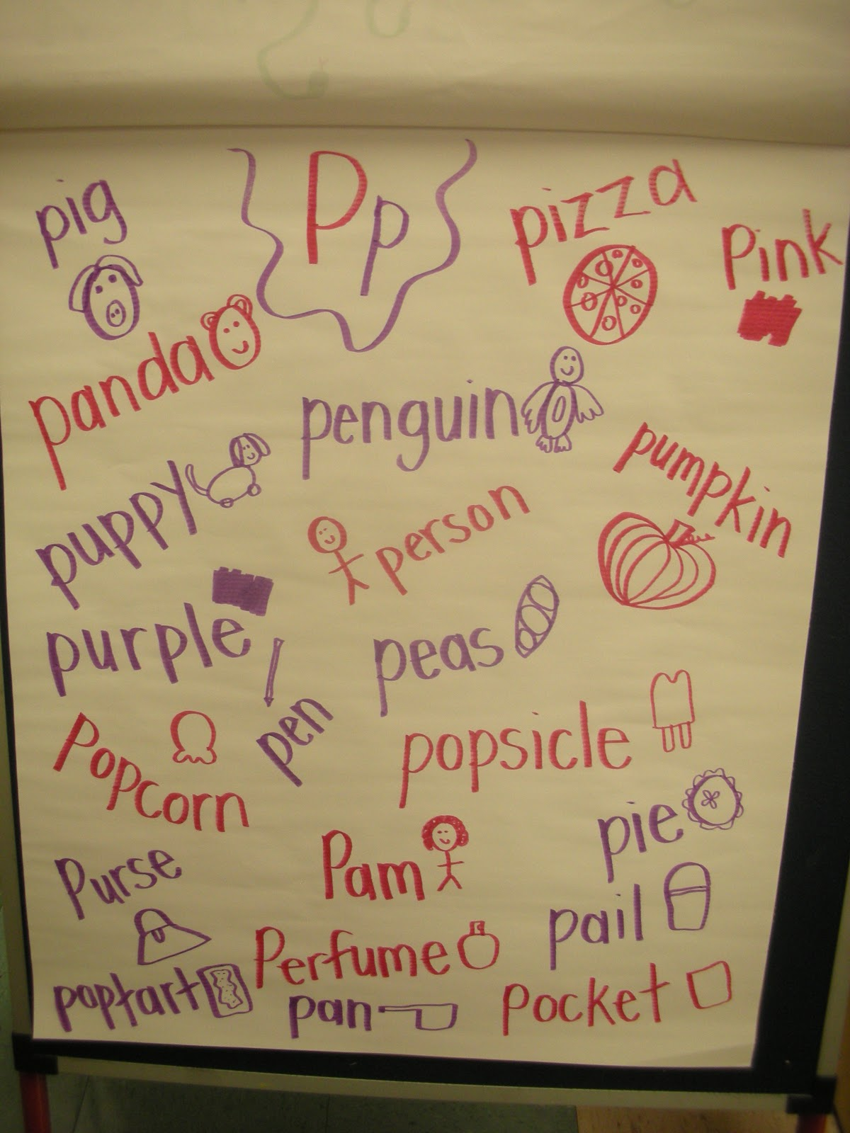 Sweet Kindergarten Letter P