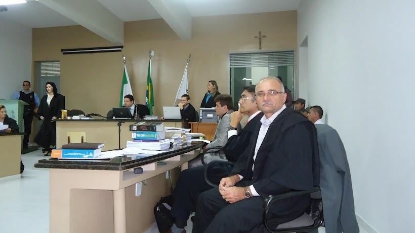 PARTICIPAÇÃO NO TRIBUNAL DO JÚRI  - ESTAGIÁRIO DA PROMOTORIA DE JUSTIÇA DE PAU DOS FERROS/RN-