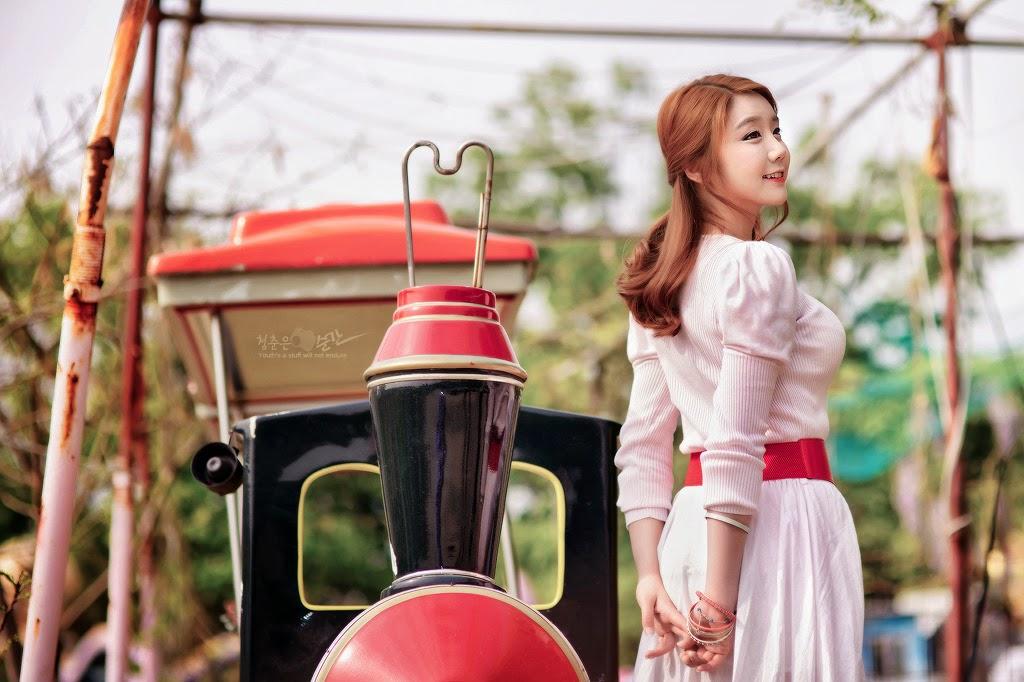 6 Kim Ha Eum - Carny Shoot, Three Outfits- very cute asian girl-girlcute4u.blogspot.com