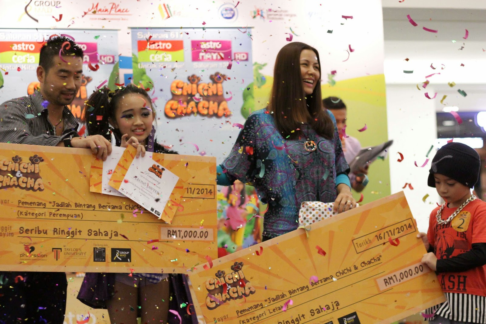 Children Grow and Learn with ChiChi & ChaCha Star Search