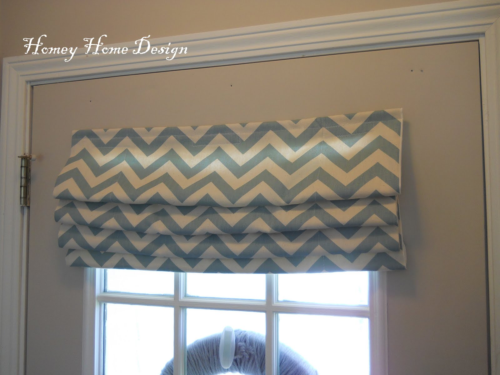 Simple Chevron Curtains