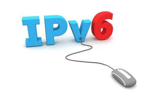 IPv6 logo+ IPv6+mouse