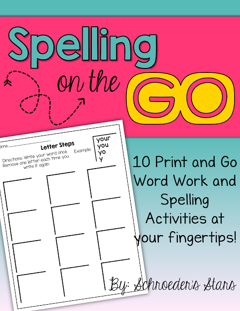 https://www.teacherspayteachers.com/Product/Spelling-on-the-GO-No-Prep-Spelling-and-Word-Work-for-any-list-2203379