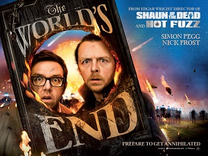 The World's End, Nick Frost, Simon Pegg, Edgar Wright