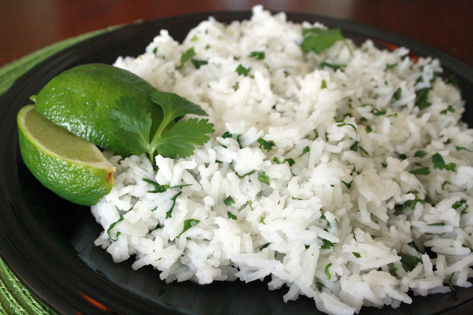 The Learning Curve: Cilantro-Lime Rice