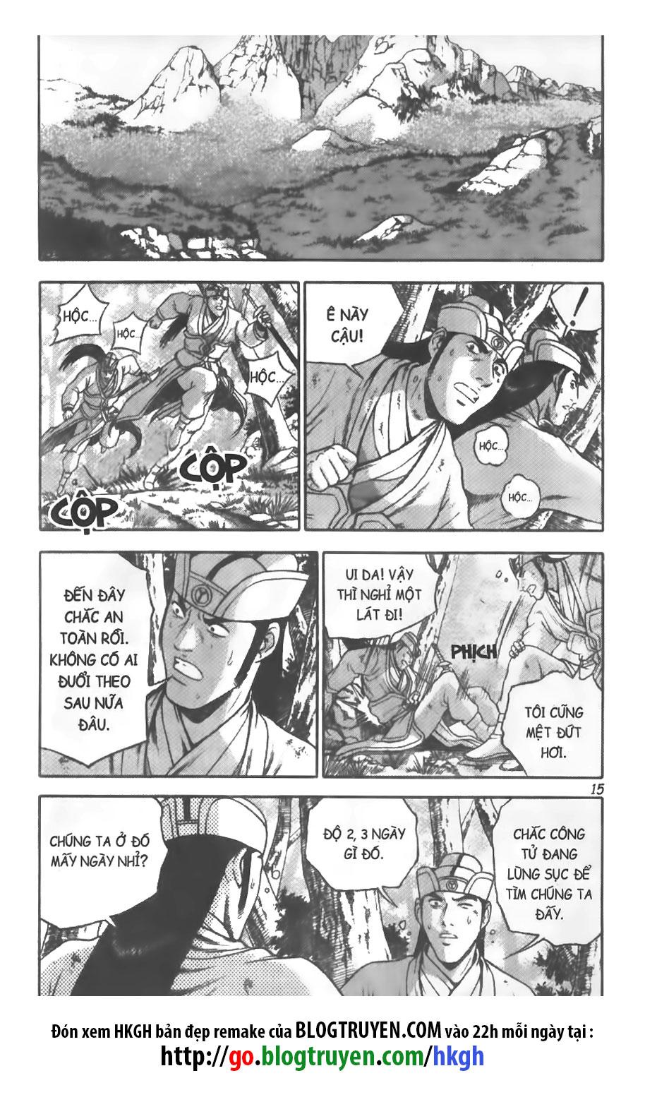 Hiệp Khách Giang Hồ trang 16