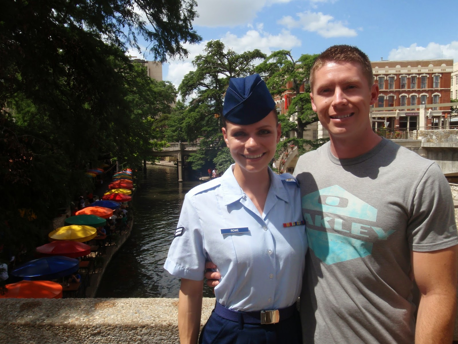 BMT Graduation, Town Pass in San Antonio, River Walk San Antonio
