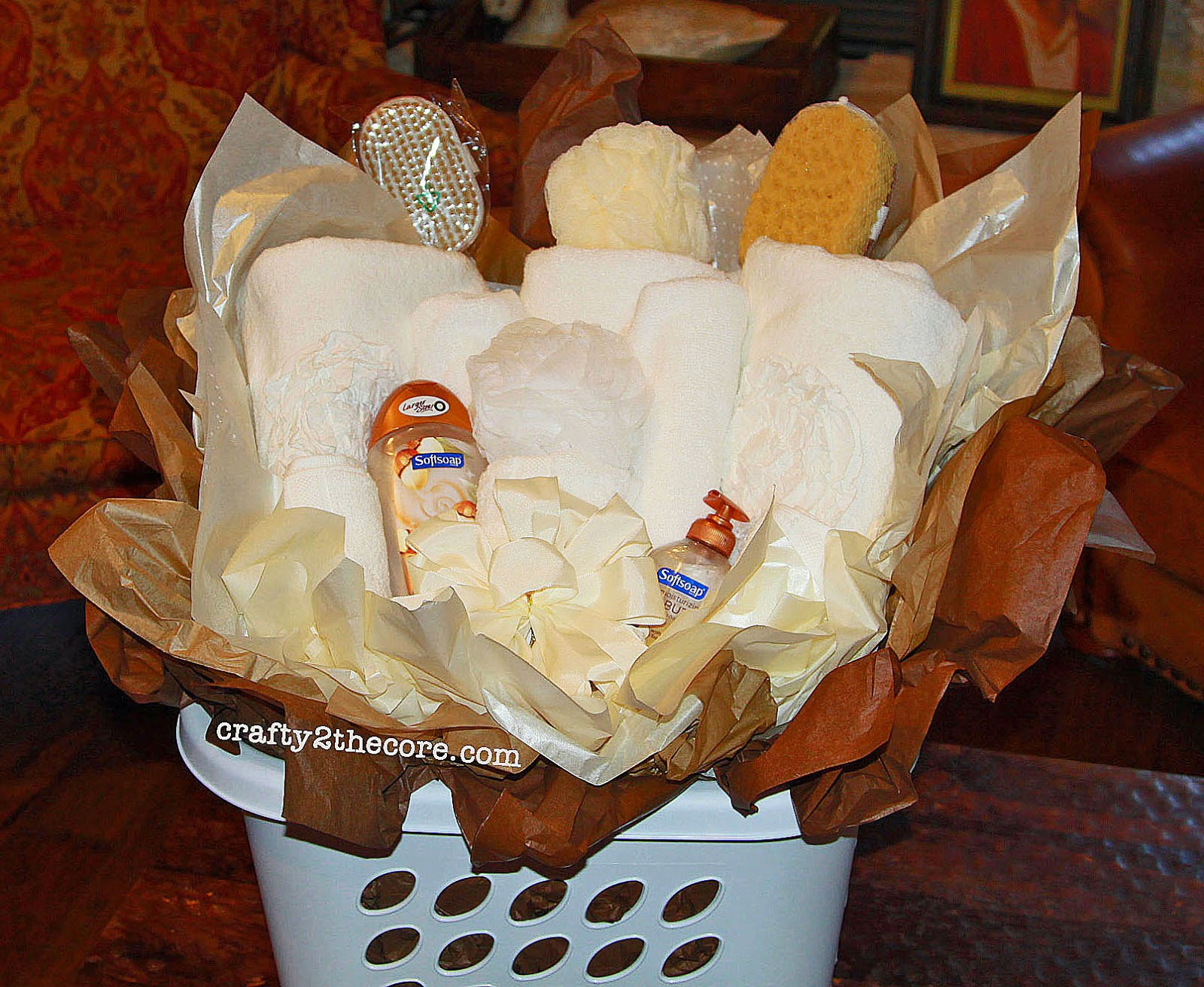 Wedding Day Gift Basket For Bride : Wedding Gift Basket~ - Crafty 2 the Core