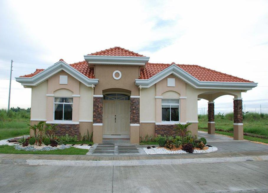 Multiple images of beautiful small house bahay ofw for Beautiful small home designs