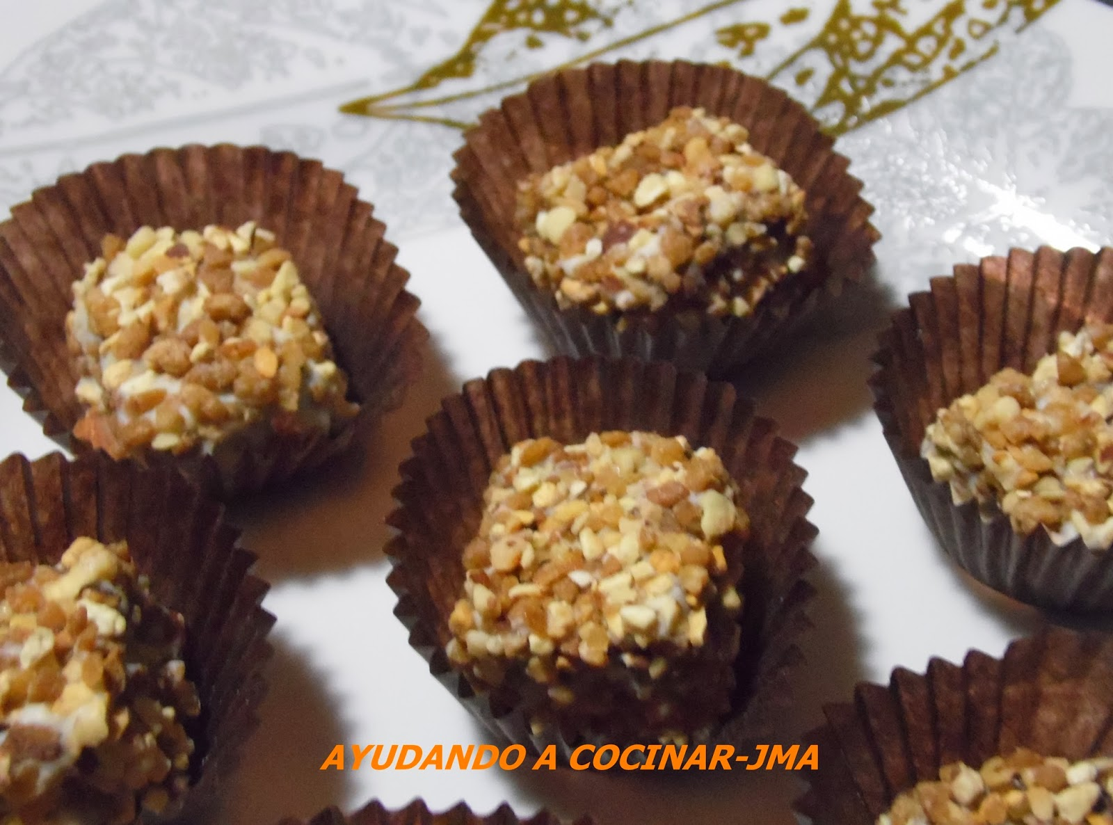 Turroncitos De Chocolate Crujientes