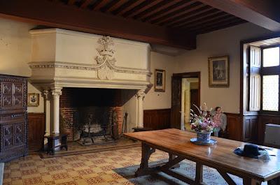 Castell de Puymartin. La sala baixa