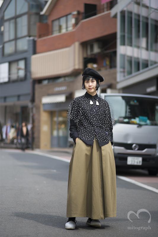 Tokyo Bopper sales stuff Yama at Harajuku during Tokyo Fashion Week 2015-2016 Fall Winter JFW
