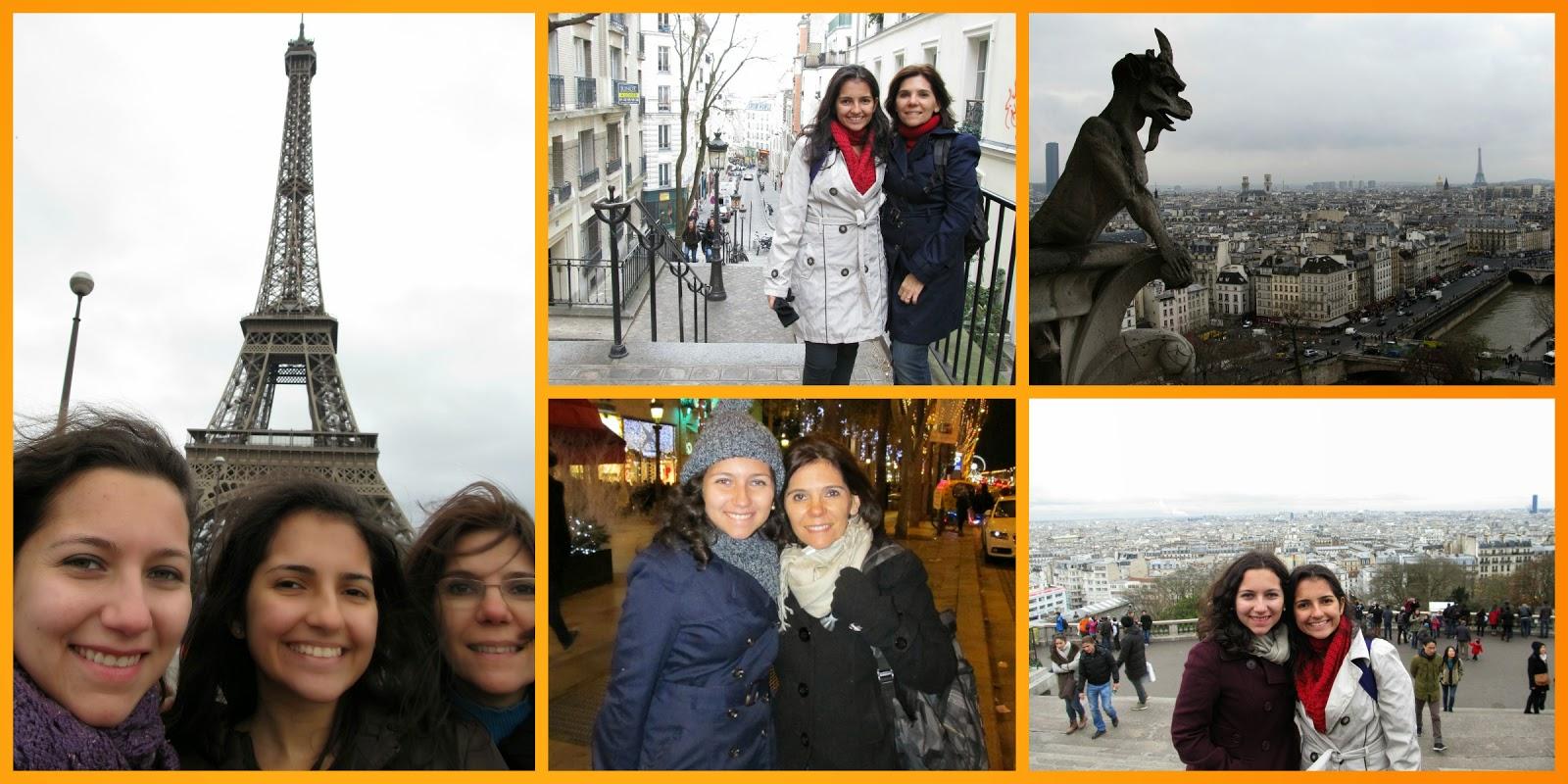 Viagem a Paris, França