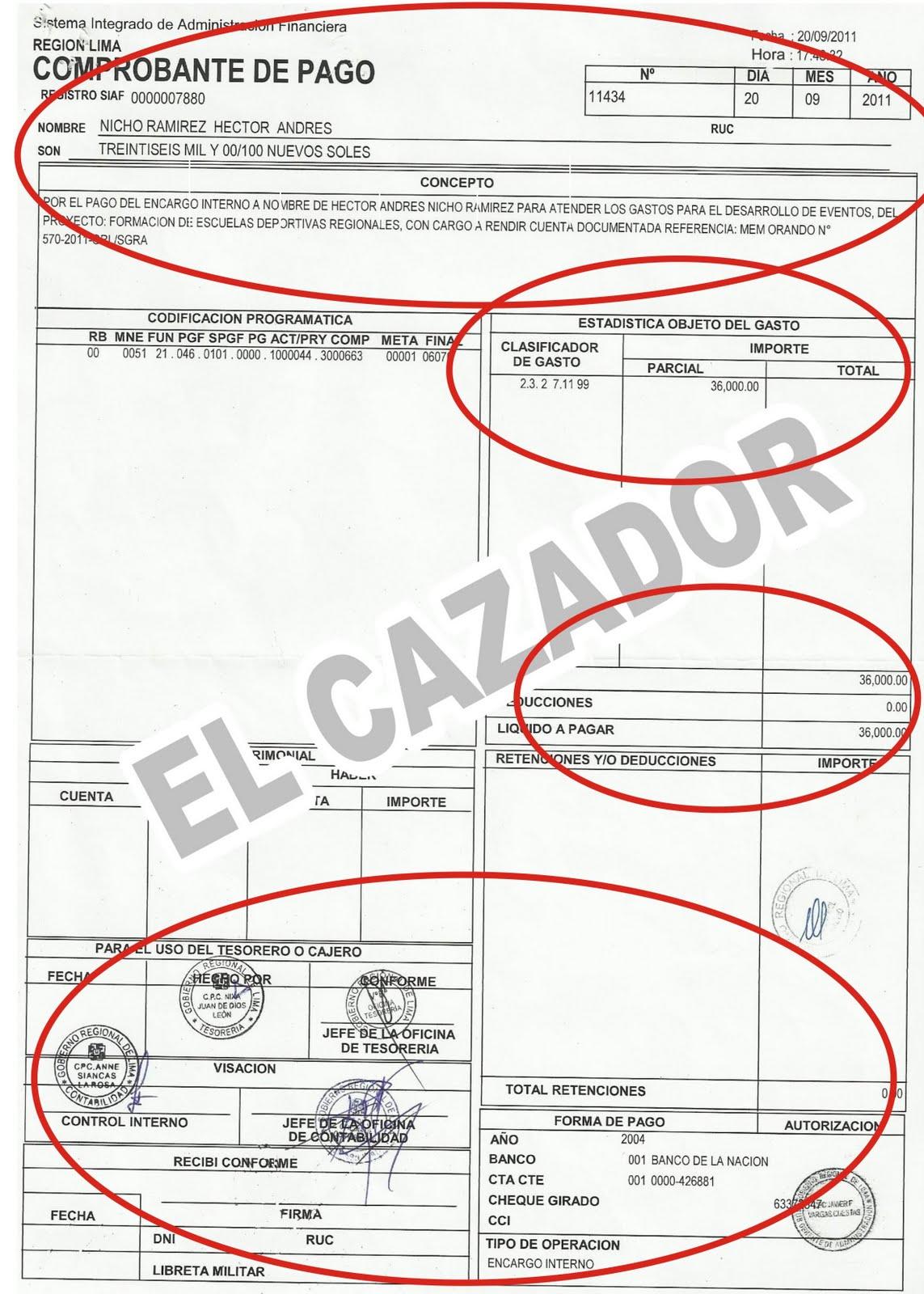 ESCANDALO: EN GESTION DE LITA ROMAN SE DIO ENCARGO POR S/. 36 MIL ...