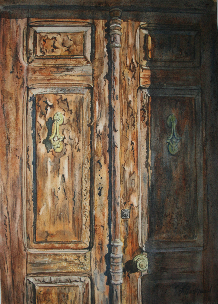 Leslie Redhead Fine Art: Old Doors, Locks, and Latches