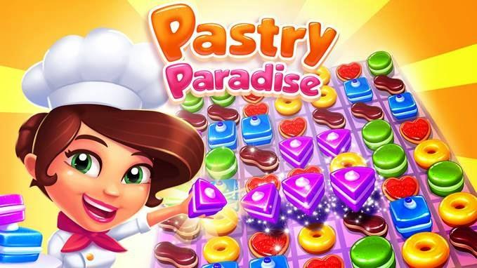 تحميل لعبة Pastry Paradise باللغة العربية على آيفون, آيباد و آندرويد و ويندوز فون و ويندوز 8