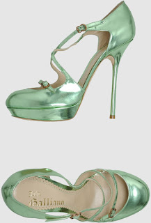 John Galliano Platform Pumps