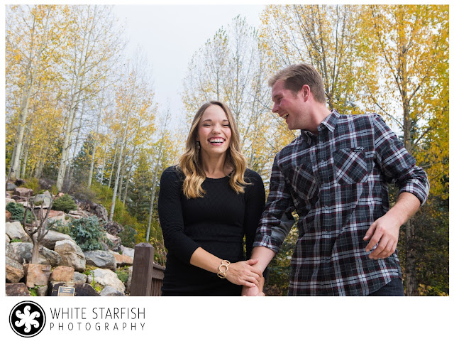 Betty Ford Gardens Vail Engagement Photos