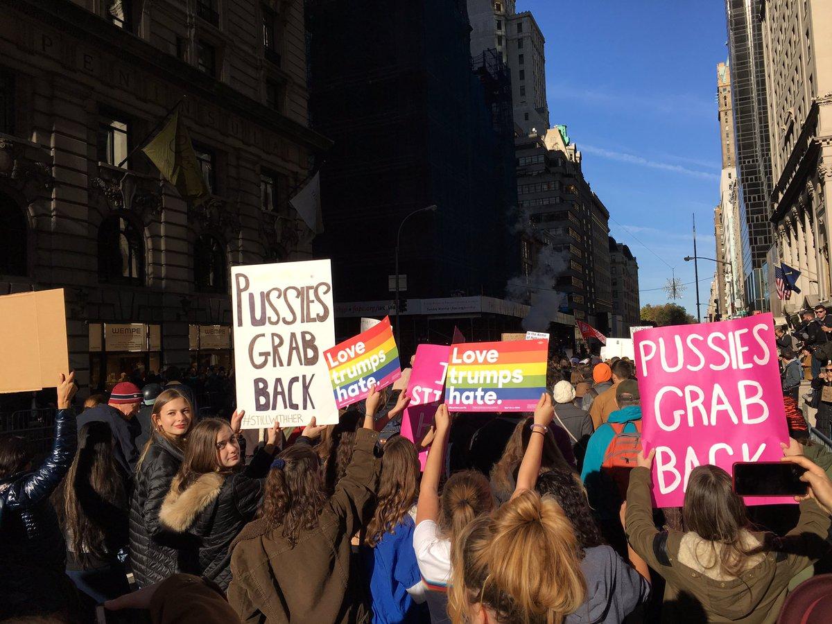 TRUMP PROTEST 11-12-2016